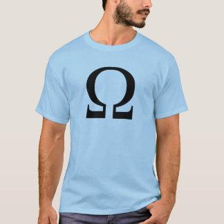Ω ohm tee shirt