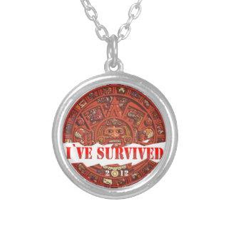Аpocalypse 2012 avslutar av världen silverpläterat halsband
