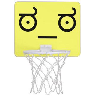 ಠ_ಠLook av för textkonst för ogillande ASCCI Mini-Basketkorg
