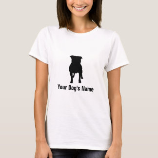 テリア för ・ för ブル för ・ för スタッフォードシャー för t-shirts