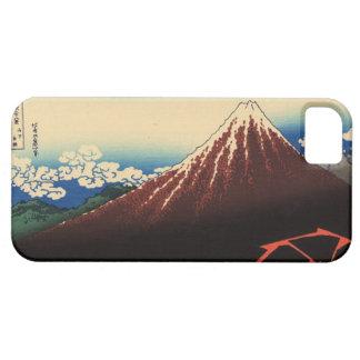 山下白雨, 北斎åska och Mount Fuji, Hokusai, Ukiyo-e iPhone 5 Case-Mate Fodraler