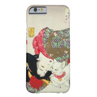 猫が好き 芳年 älskar jag katter, Yoshitoshi, Ukiyo-e Barely There iPhone 6 Skal