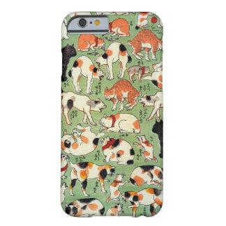 猫尽両めん合 芳藤katter av den Edo eraen, Yoshifuji, Barely There iPhone 6 Fodral