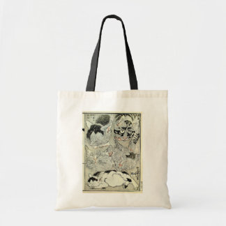 猫 暁斎katter, Kyōsai, Ukiyo-e Budget Tygkasse