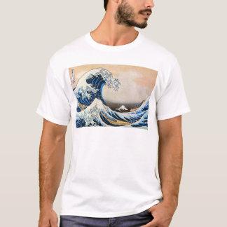 神奈川沖浪裏 北斎underbar vinkar, Hokusai T Shirt