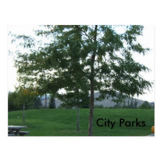 003 stadsparker vykort