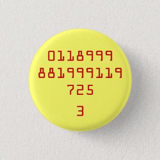 0118999881999119725 3 MINI KNAPP RUND 3.2 CM