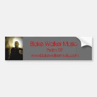 020 Blake fotgängaremusik, Psalm 139, www.blakewa… Bildekal