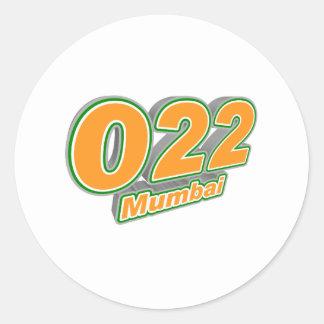 022 Mumbai Runt Klistermärke