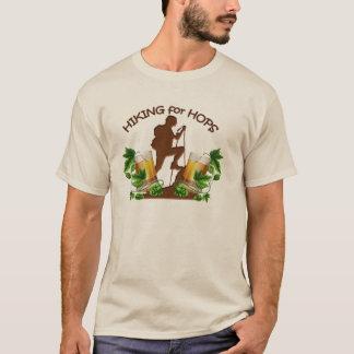 (02) Fotvandra för skuttmanar grundläggande T-shirt