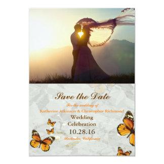 047-Wedding kopplar ihop 12,7 X 17,8 Cm Inbjudningskort