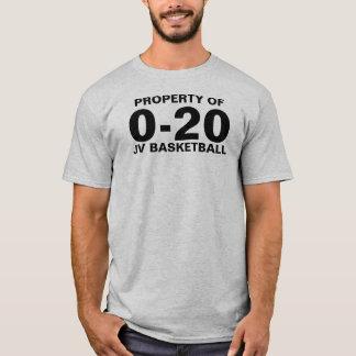 0-20 basket t-shirt