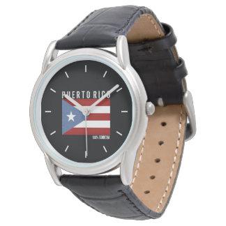 100 Boricua: Puerto Rico Armbandsur