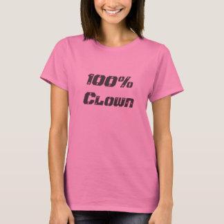 100% clown t shirts