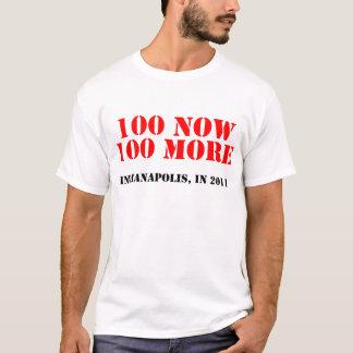 100 nu, 100 mer (den 100. årsdagen) t shirt