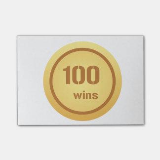 100 segrar Postar-it® noterar Post-it Lappar