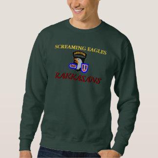 101ST Luftburen RAKKASANS-tröja Sweatshirt