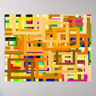 107 färggränser för att DIG ska personifiera Poster