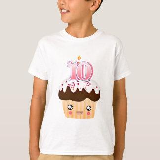 10 år muffin T - rosa T Shirts