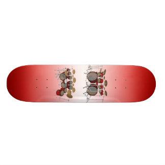 10 biet trummar satsen: 3D modellerar: Beställning Skate Deck