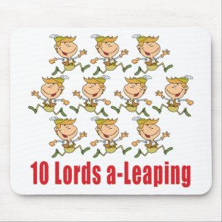 10 Lords en-Hoppa Mousepad Musmatta
