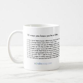10 väg du vet att du är en CAN Kaffemugg