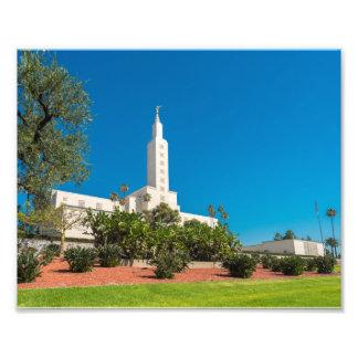 """10"""" x 8"""" yrkesmässigt tempel för foto LDS Los"""