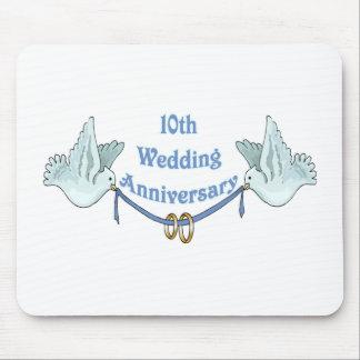 10th bröllopsdag 2t mus mattor