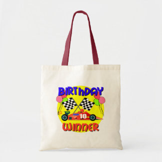 10th Födelsedag för födelsedagtävlingbil Kassar