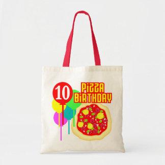 10th FödelsedagPizzafödelsedag Tote Bag