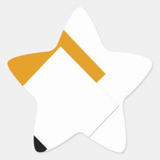 1234.gif stjärnformat klistermärke