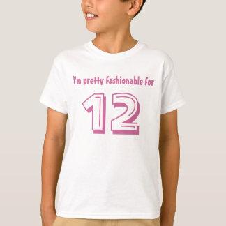 12:efödelsedaggåva mig nätt innegrej för förmiddag t shirts
