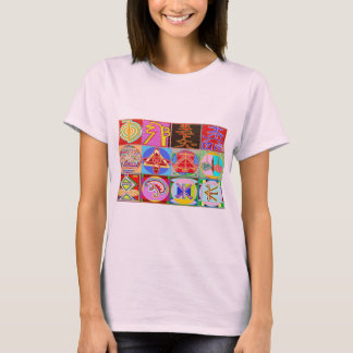 12 Reiki n Karuna Reiki som läker designer T-shirt