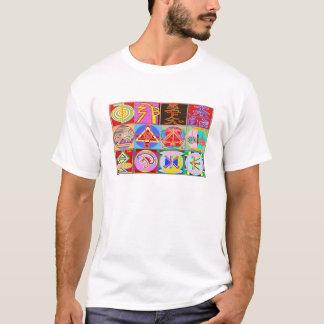 12 Reiki n Karuna Reiki som läker designer Tee Shirt