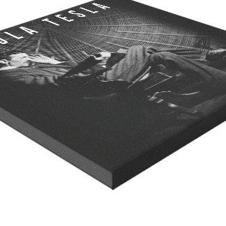 12x12 - Nikola Tesla kanfas Canvastryck