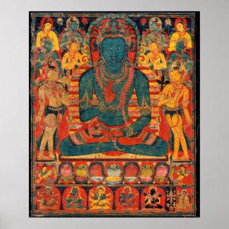 13th Århundrade Transcendent Buddha med Poster