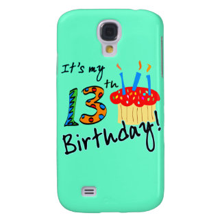 13th Födelsedag Galaxy S4 Fodral