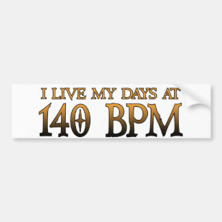140 BPM-dagar DUBSTEP Bildekaler