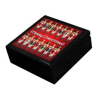 14 färgrika soldater för julaftonnötknäppareleksak presentskrin