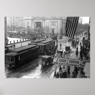 14th Gata Washington, D.C.: 1918 Poster