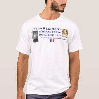 151. infanteri för fransk tröja