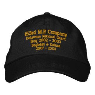 153 rd M.P Företag Delaware N.G. Broderad Keps