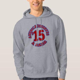 15 en minimum timpenning för TIMME Sweatshirt Med Luva