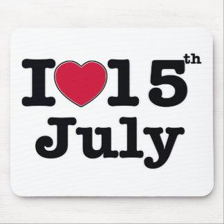15th juli min dagfödelsedag musmatta