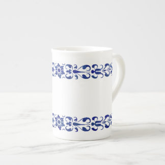 16th Design för romerska blått för århundrade Tekopp