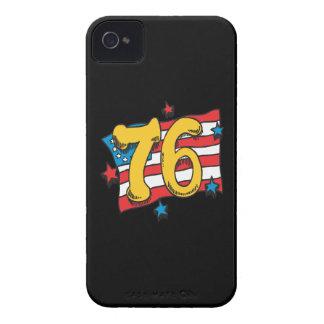 1776 Case-Mate iPhone 4 FODRALER