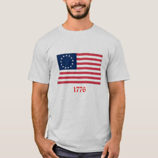 1776 flagga t-shirts
