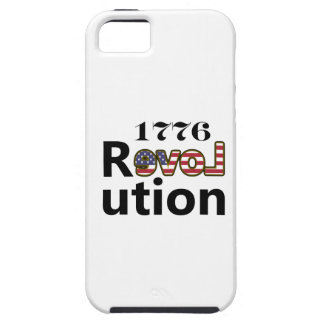 "1776 ""kärlekUSA"" revolution iPhone 5 Case-Mate Fodraler"