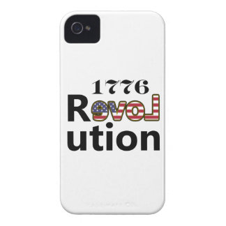 "1776 ""kärlekUSA"" revolution iPhone 4 Cases"