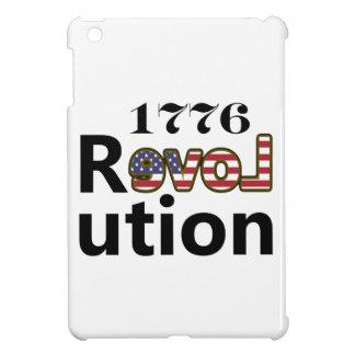 """1776 """"kärlekUSA"""" revolution iPad Mini Skal"""
